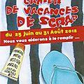 Cahier de vacances 2012
