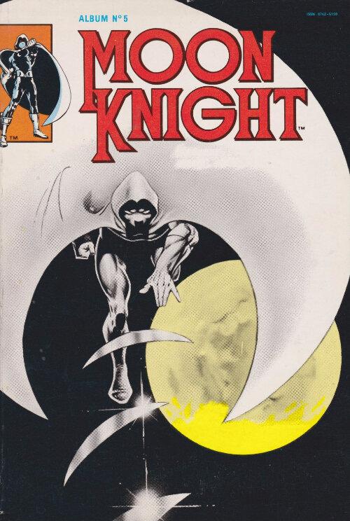 arédit moon knight album relié 05