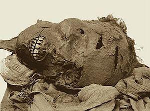 Séqénenré - tête momie