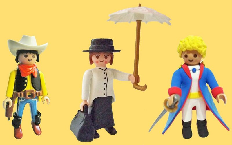 Playmobil personnages