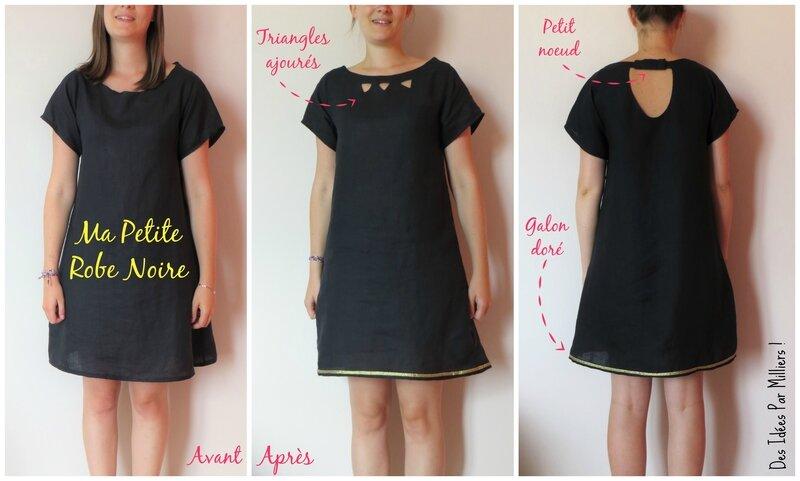 b9b412e989e Ma Petite Robe Noire pour Cousu Main + Tuto - Des Idées Par Milliers !
