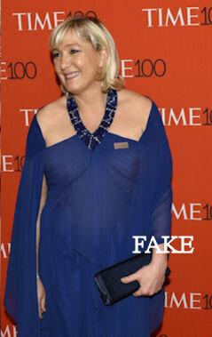 Marine Le Pen, lavenir de la France! - Photos Truquées