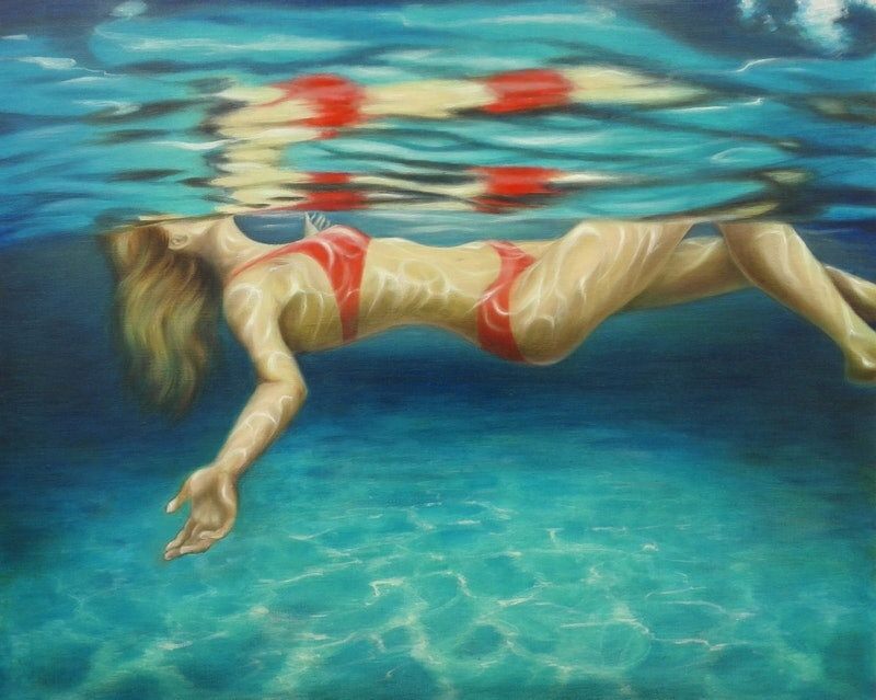swimming natasha-junmanee-relaxing-afloat-bluethumb-b149