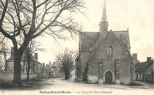 Chapelle Saint Genou - Selles Saint Denis