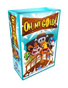 Boutique jeux de société - Pontivy - morbihan - ludis factory - Oh My gold