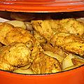 Cocotte boulangere a la choucroute et au poulet