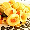 Pates juste poêlées aux légumes et à l'huile d'olive