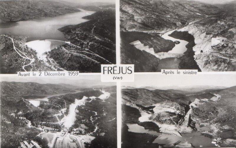 Le 2 décembre 1959, à 21h13, le barrage cède... Il y a 60 ans, la catastrophe de Malpasset (1ère partie)