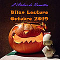 Bilan lecture octobre 2019