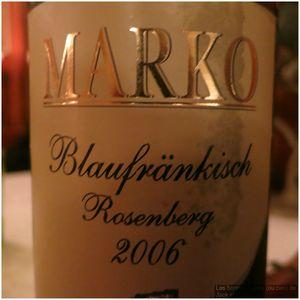 Freyenstein Blaufrankisch Rosenberg 2006 J&W