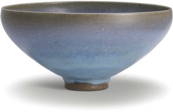 A large 'Jun' bowl, Jin-Yuan dynasty