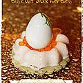 Panna cotta au saumon et son biscuit aux herbes au thermomix