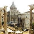 arc de septime sévère et forum A ROME
