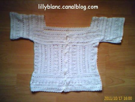 Blouse au crochet