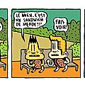 Strip 22 / bill et bobby / le sandwich (suite)