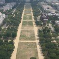 Le National Mall vu du haut du Washington Monument