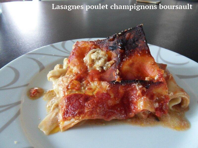 lasagnes poulet champignons boursault1