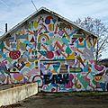 Rue weiss besançon doubs fresque