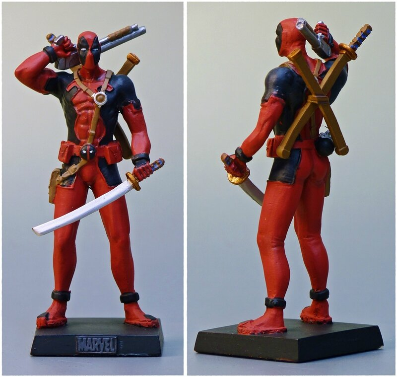 deadpool eaglemoss