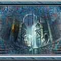 Bannière fond bleu