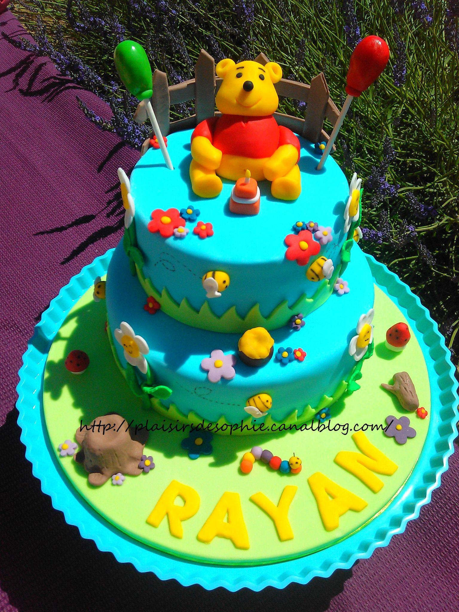 Gâteau Winnie , Photo de Mes gâteaux décorés , Les Petits