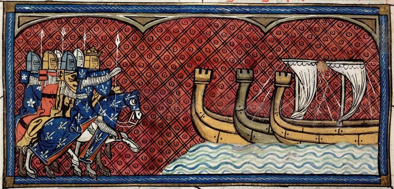 1213 Savary de Mauléon commande la flotte de Philippe Auguste (bataille navale de Damme)