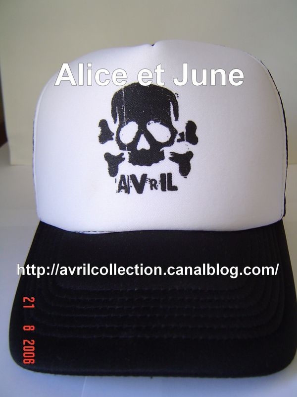 The Bonez Tour, Lyon France 25/05/2005-Casquette