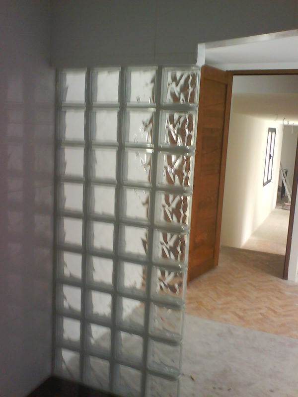 Mur De Verre mur en pavé de verre - photo de photos - sarl tb