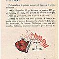 Les recette de filette (semaine du 5 janvier 1961)