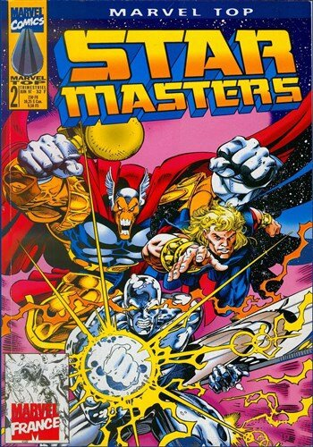 marvel top V1 02 star masters