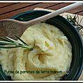 Puree de pommes de terre maison