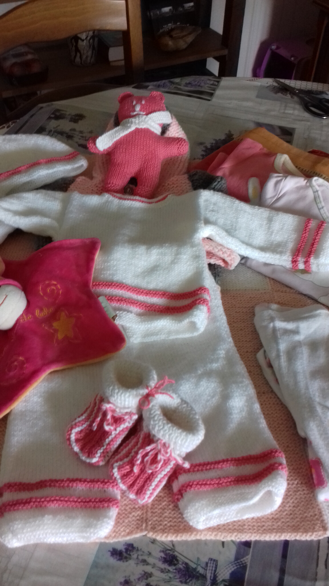Nouvelle préparation de colis pour bébés