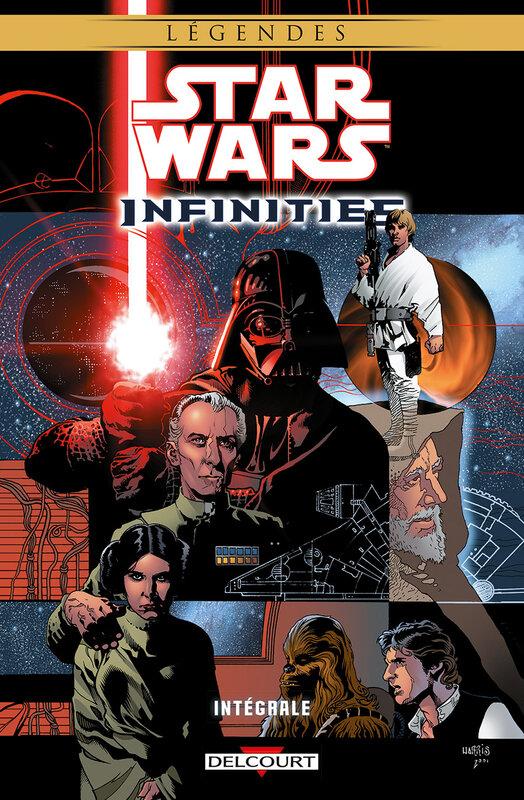 delcourt star wars infinities intégrale