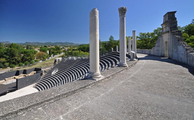 Vaison la Romaine : les ruines romaines