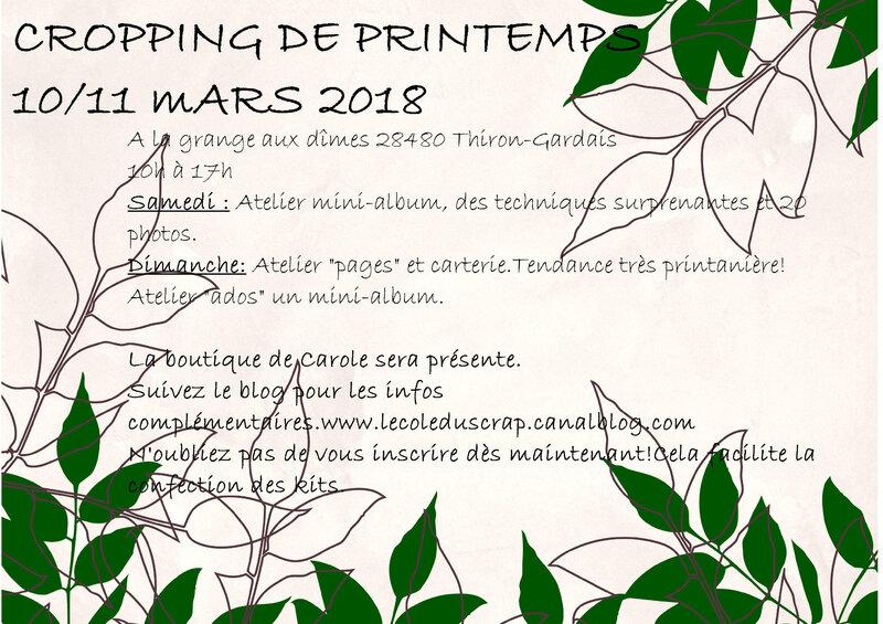 Affiche crop printemps mars 2018