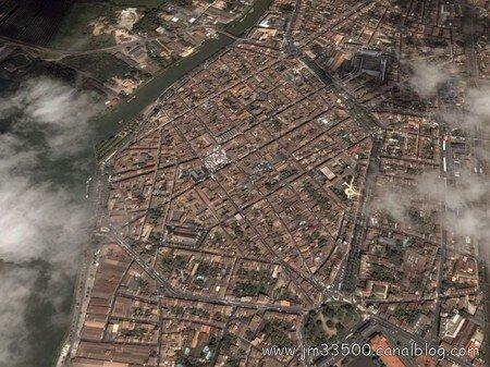 La BasTide de LiBoUrNe - DIAPORAMA vue par Sattelite en Cliquant sur L'image