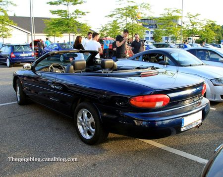 Chrysler stratus LX convertible (Rencard Burger King mai 2011) 02