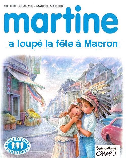 Fête à Macron