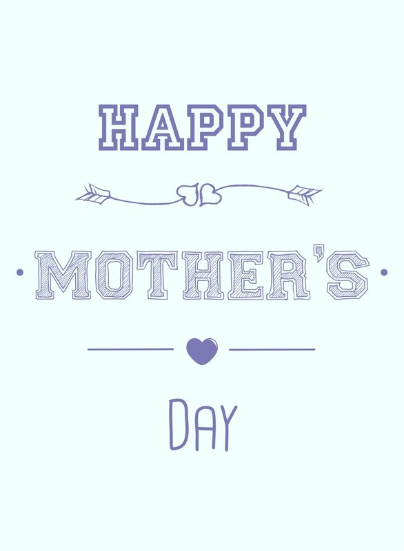 Card Happy Mother's Day Purple by BBTMA - copie 2