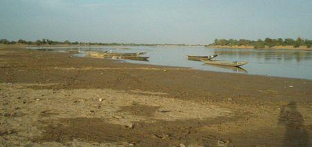Silence de fin de journée Fleuve BANI Mali