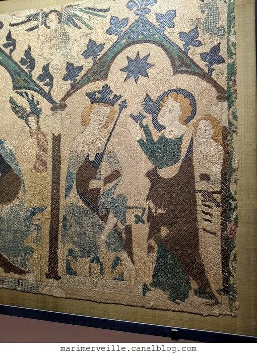 Atependium figures de Saints - musée de Cluny