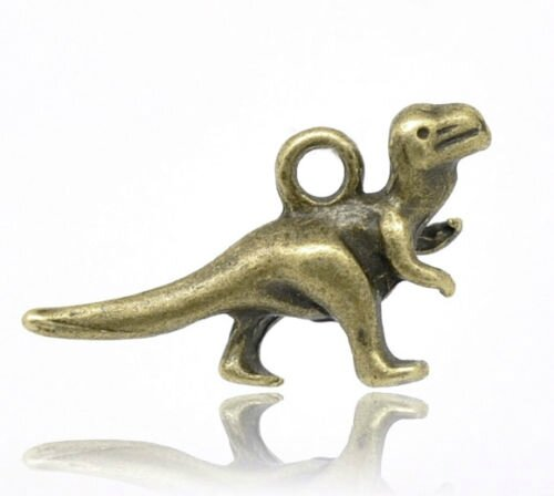 dinosaure bronze 22x12mm