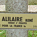 Alilaire rené (châteauroux) + 05/01/1916 zuydcoote (59)