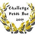Challenge petit bac 2019