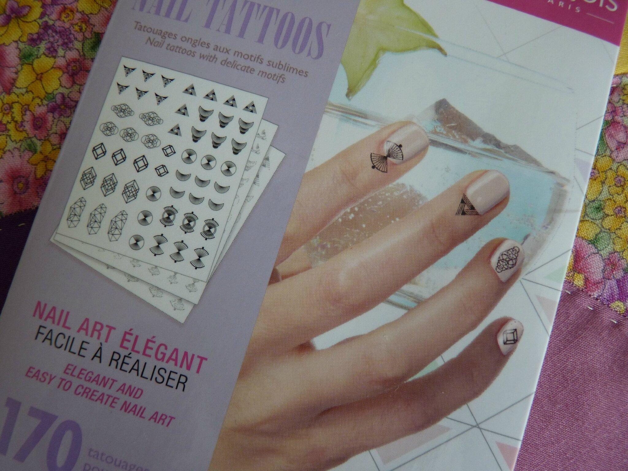 Bourjois : des tatoos pour mes ongles !