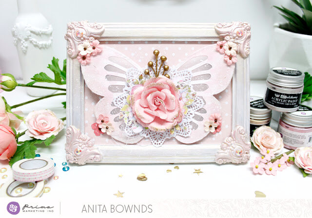 butterfly frame by Anita Bownds prima marketing (1)
