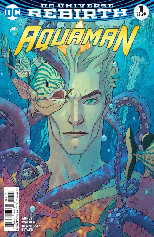 rebirth aquaman 01 variant