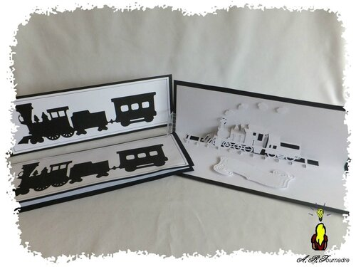 ART 2014 12 train kirigami 5