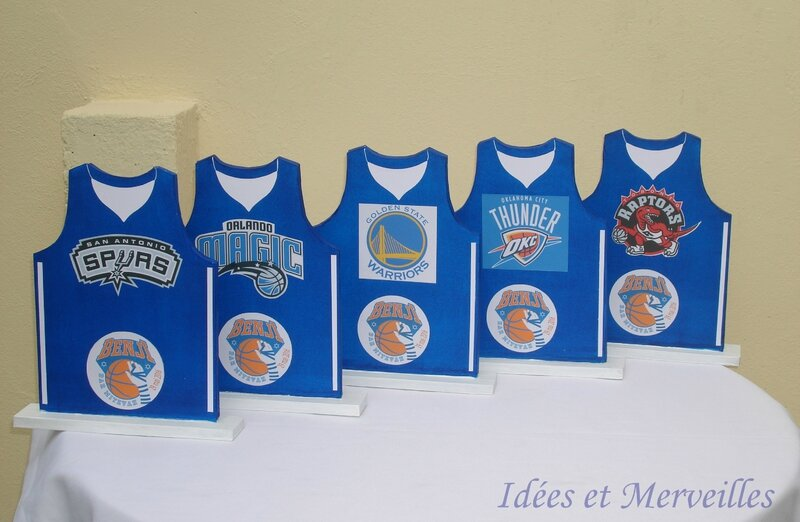 centre de table Basket Ball - Idees et merveilles (2)