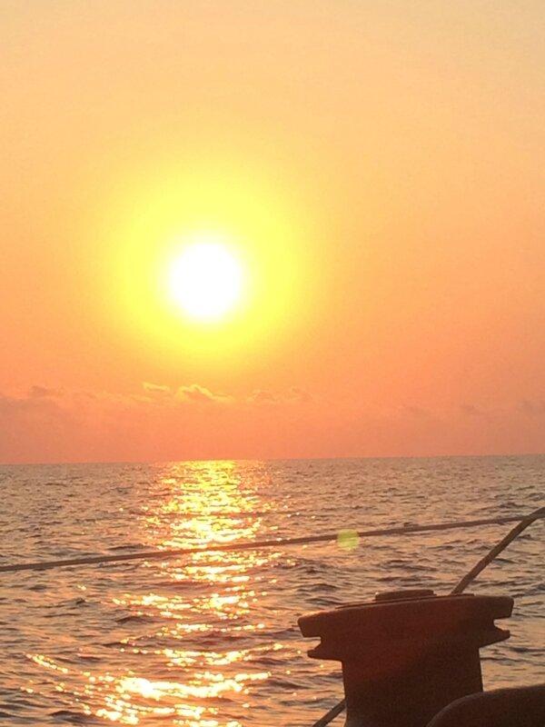 Lever de soleil sur winch 070815